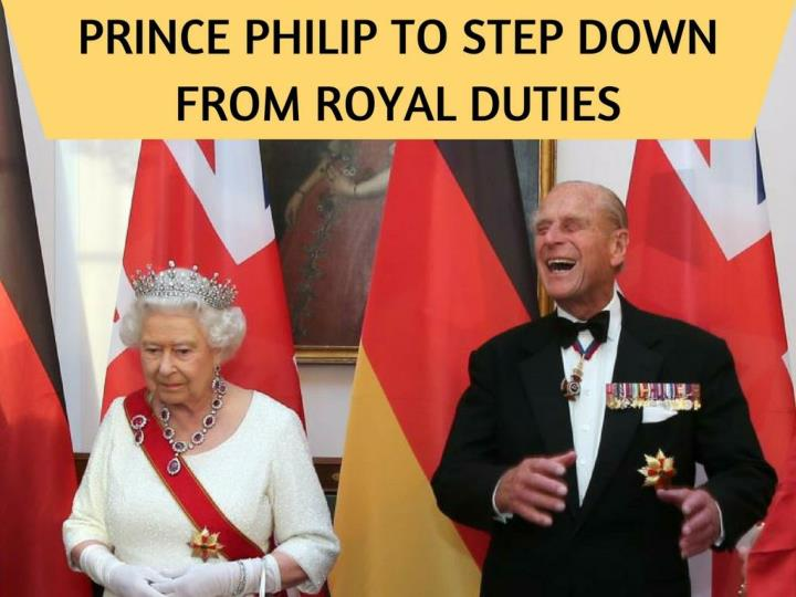 prince philip to step down from royal duties n.