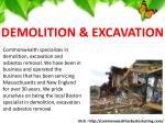 demolition excavation