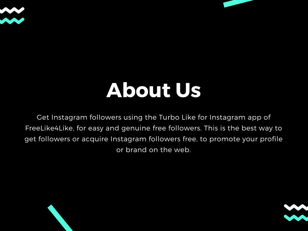 Turbo Followers For Instagram