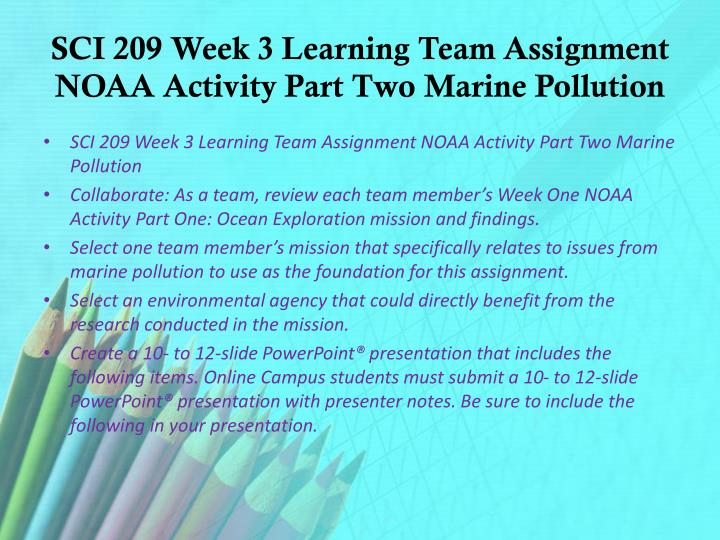 sci 209 week 5 noaa activity This pack contains sci 209 week 5 noaa activity final section marine adaptations.