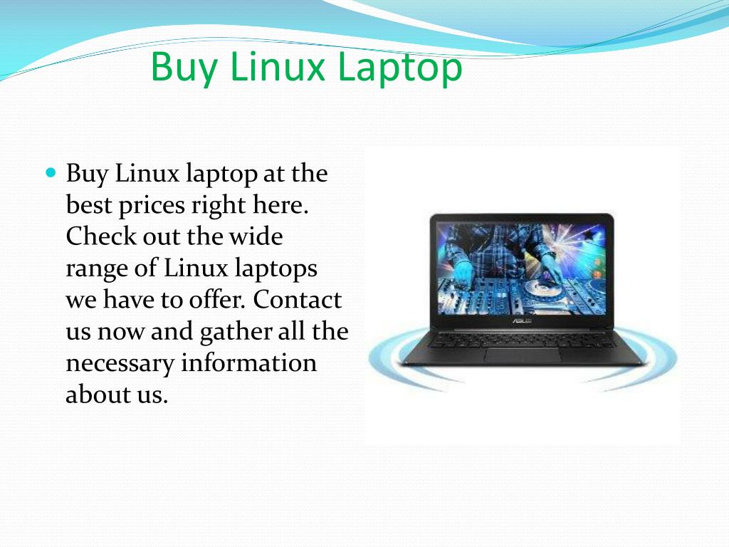 PPT - Buy Linux Laptop PowerPoint Presentation - ID:7572356