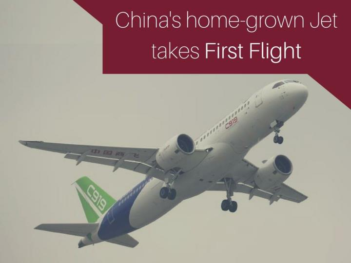 china s home grown jet takes first flight n.