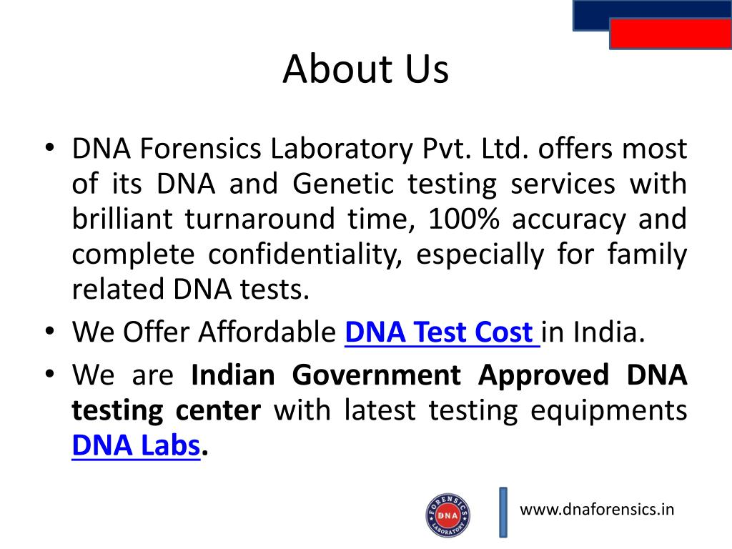 PPT - DNA Test Cost PowerPoint Presentation - ID:7572876
