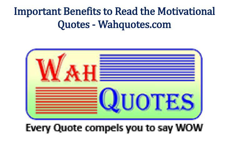 important benefits to read the motivational n.