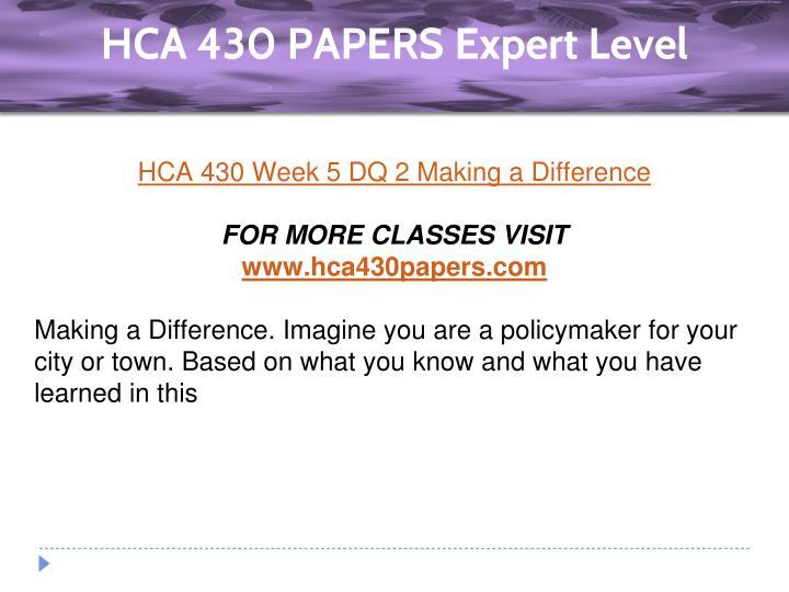 hca 320 week 2