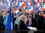 marine le pen attends a people s party with