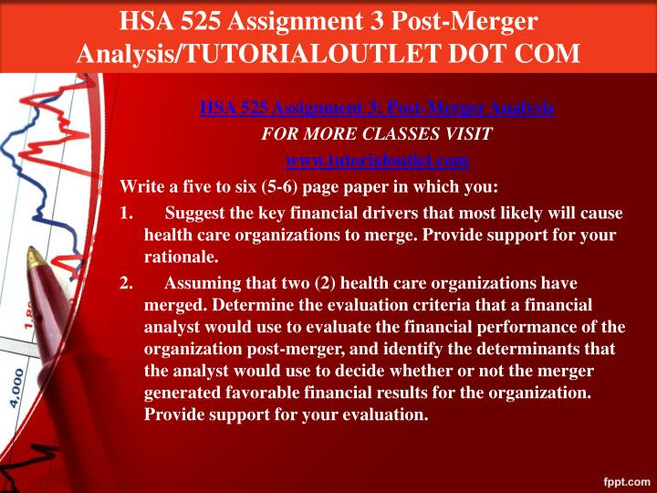 hsa 525 week 6 assignment 2 Hsa 525 week 9 assignment 5 assignment 5: hsa 525 week 6 discussion write using ratios as performance indicators and inflation and health care costs.