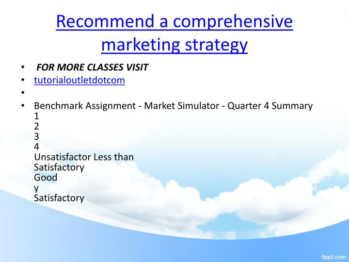 Critical Evaluation Of Internet Marketing Sample