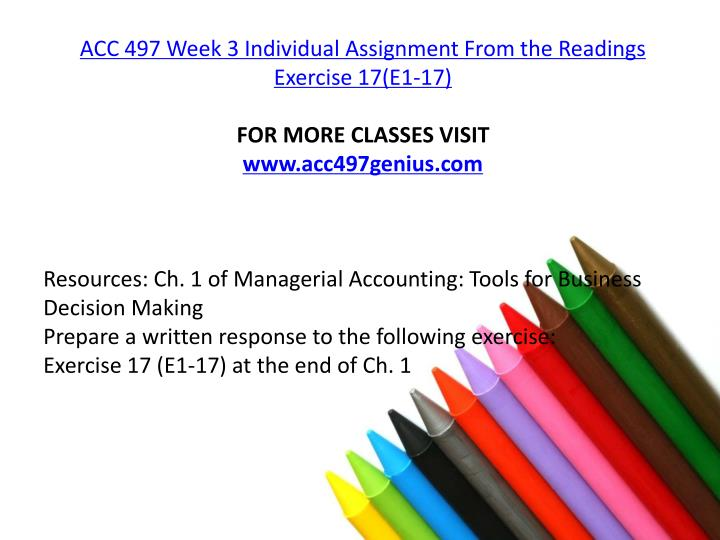 week3 individual assignment Ops 571 week 3 individual assignment lean techniques (2 papers) ops 571 week 3 individual assignment process designs and supply chains presentation week 3.