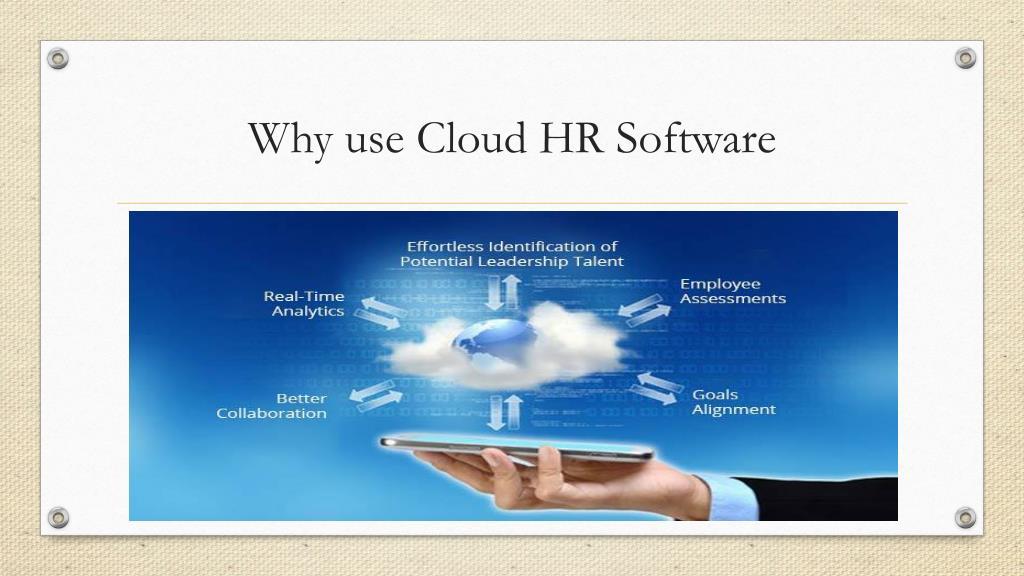 PPT - cloud HR software PowerPoint Presentation - ID:7574559