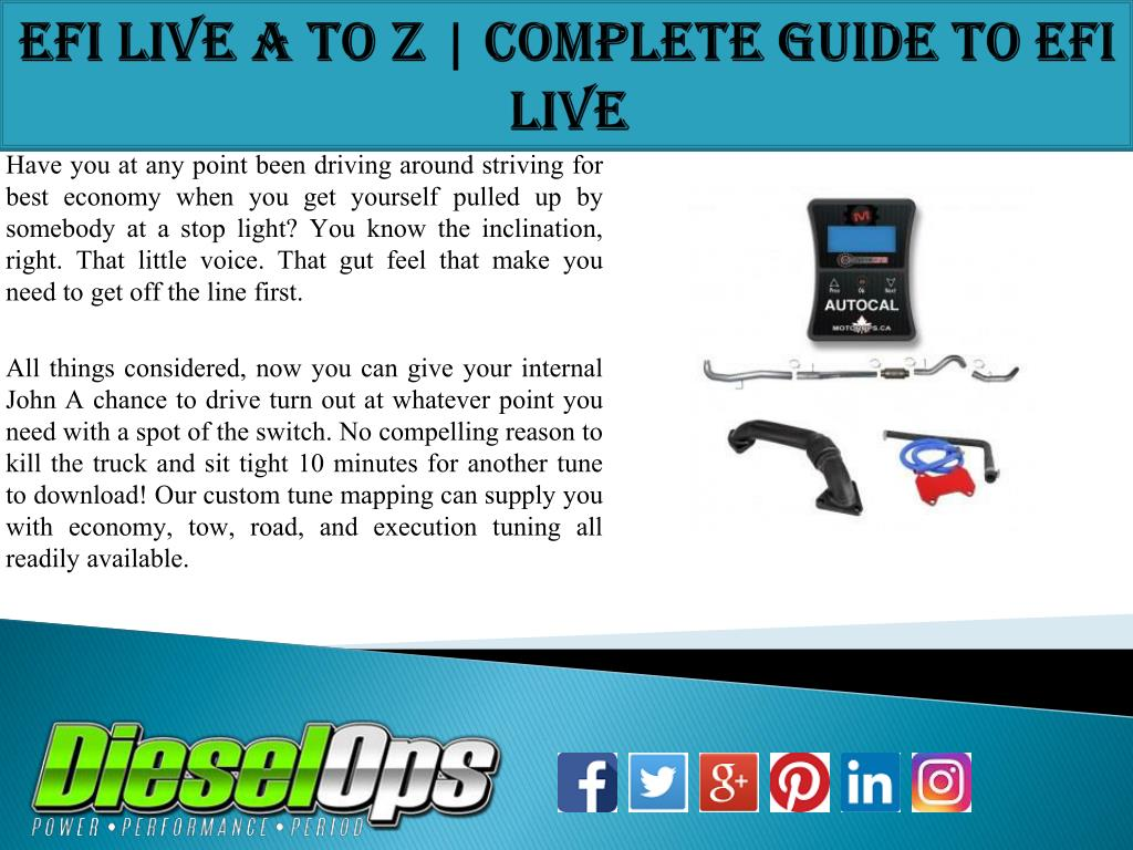PPT - EFI Live A to Z | Complete Guide to EFI Live