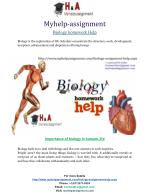 Biology answers for homework