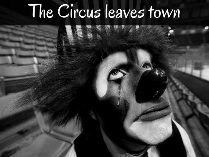 the circus leaves town n.