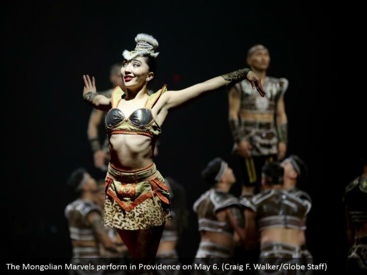 The Mongolian Marvels perform in Providence on May 6. (Craig F. Walker/Globe Staff)