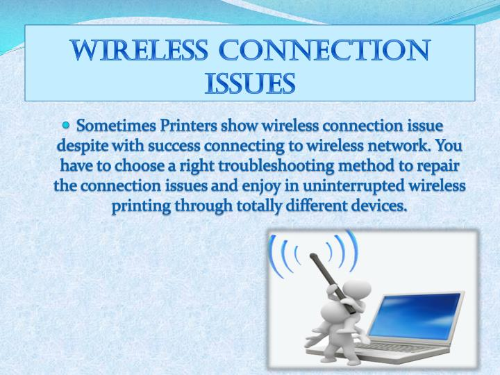 PPT - Get Fix Wireless Connection Issue of HP Printers ...