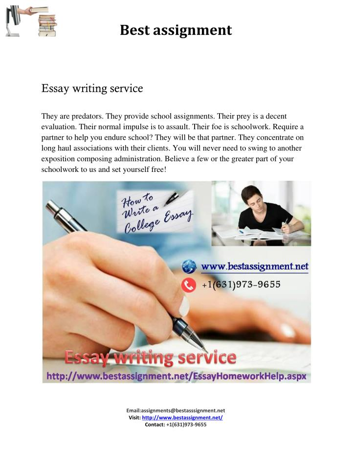 PPT Essay Writing Service PowerPoint Presentation Free