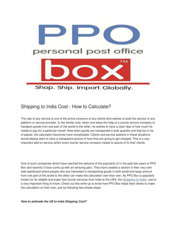 shop from usa uk amp import to india ppo box - 720×931