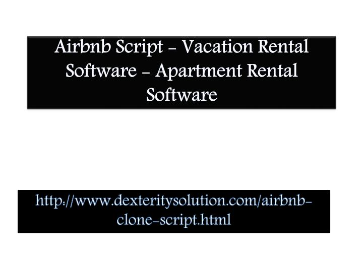 airbnb script vacation rental software apartment rental software n.