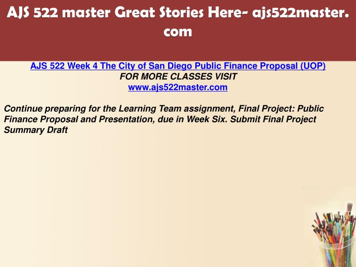 submit the final draft of your final project proposal • formulate the preliminary capstone project proposal by mid-may, year one • with the mentor and advisor, develop the final capstone project proposal and submit to the mentoring committee for final approval by no later than the first day of class for the fall semester, year two.