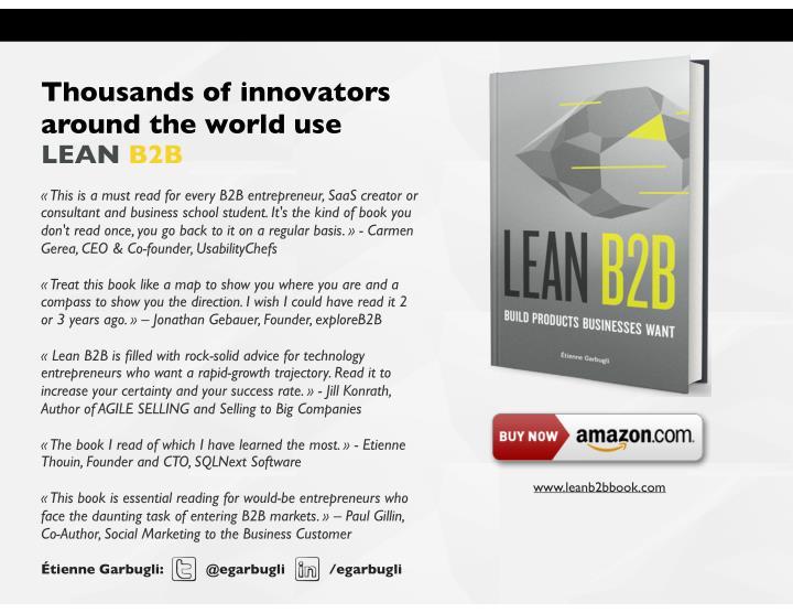 Thousands of innovators