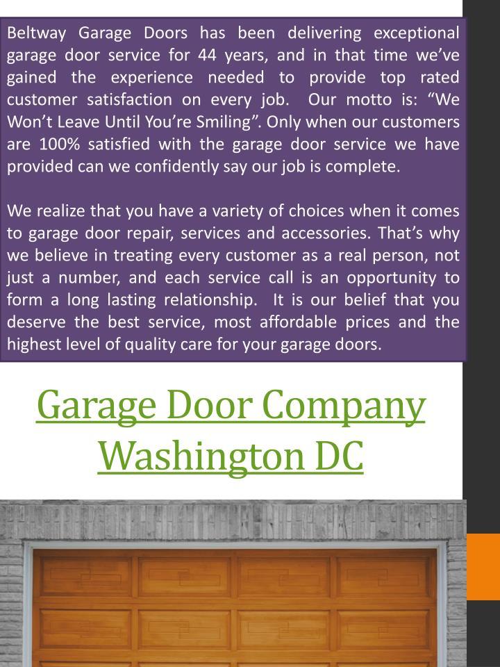 Ppt Garage Doors Dc Powerpoint Presentation Id7578179