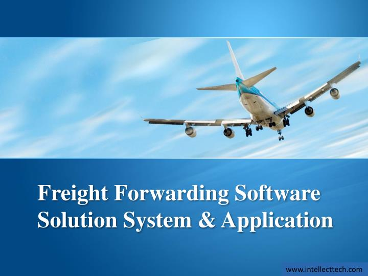 PPT - Freight Forwarding Software Solution System