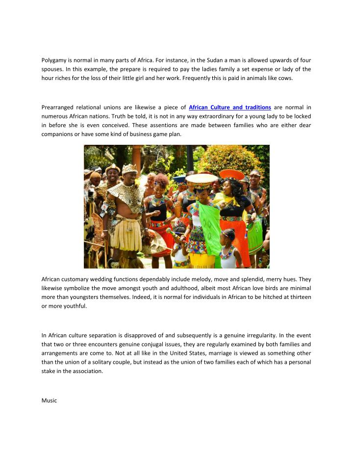Ppt African Culture And Traditions Powerpoint Presentation Id