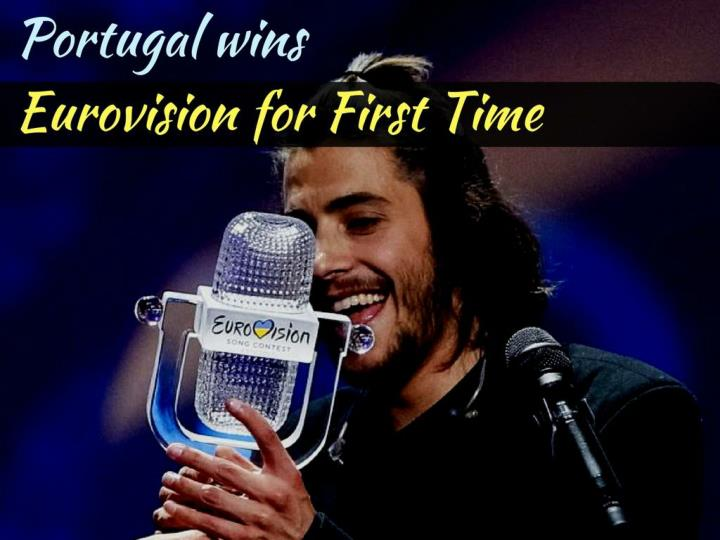 portugal wins eurovision for first time n.