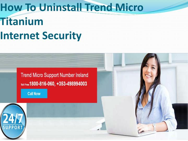 how to uninstall trend micro titanium internet security n.