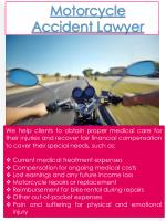 PPT - Motorcycle Accident Attorney Near Me PowerPoint Presentation - ID:7579017