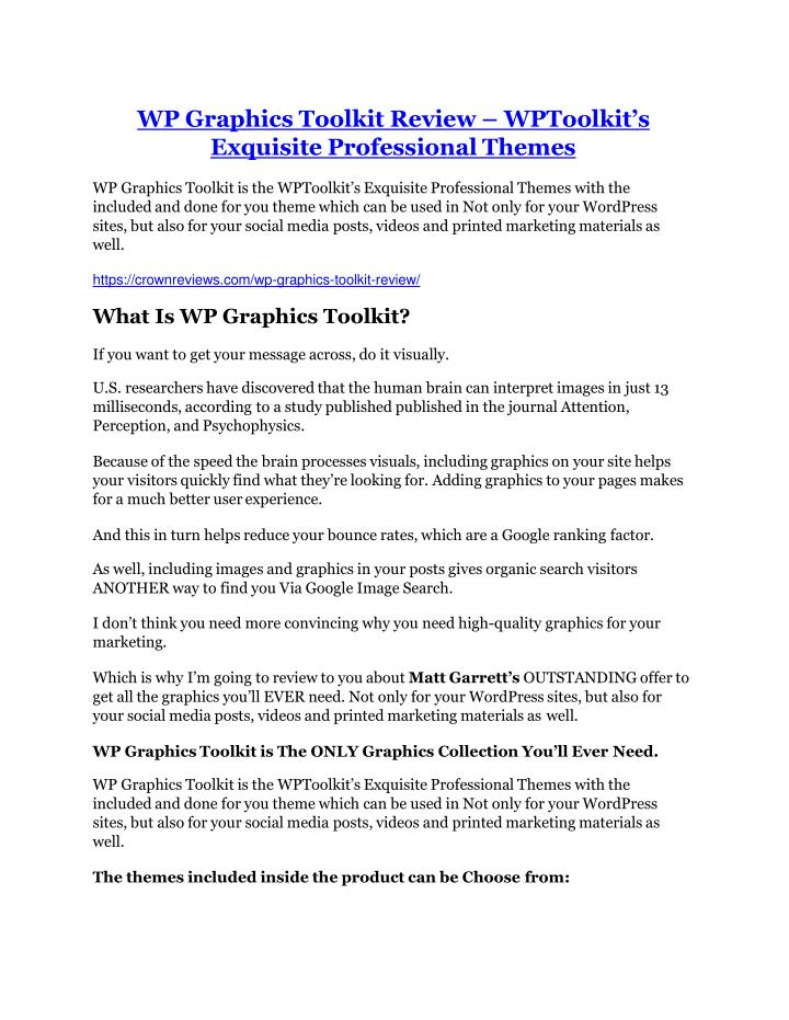 wp graphics toolkit review wptoolkit s exquisite n.