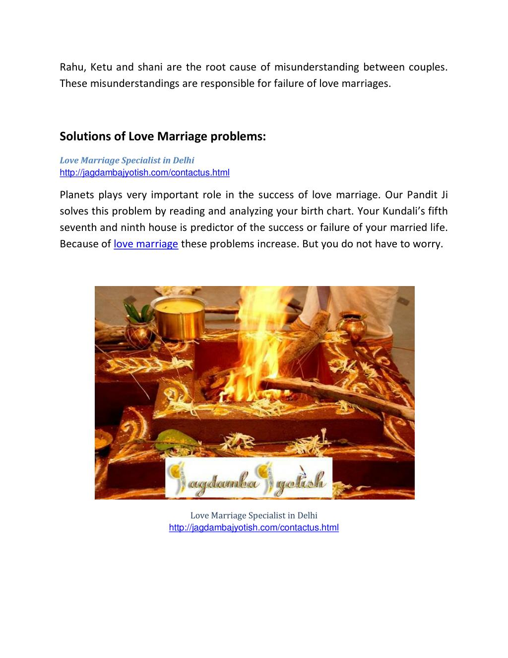 PPT - Love marriage specialist in delhi-best astrology