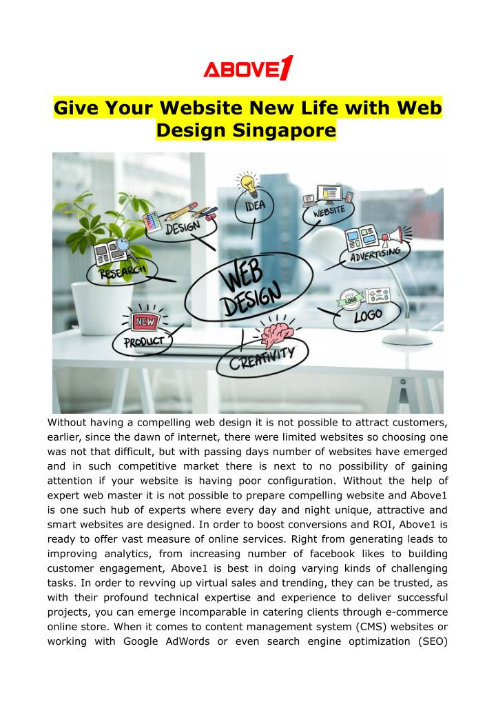 give your website new life with web design n.