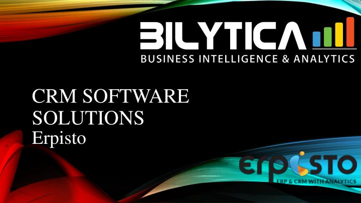 crm software solutions n.