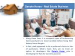 darwin horan real estate business