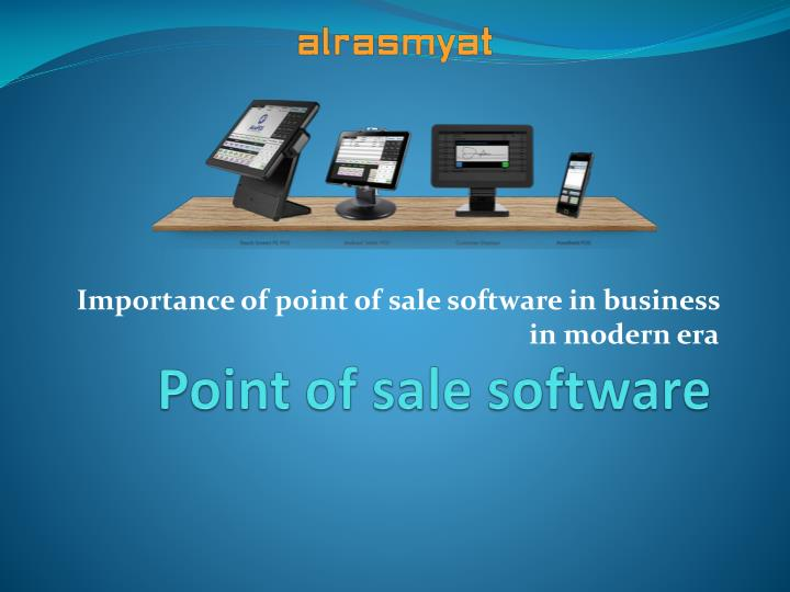 importance of a point of sale Pos (point of sale) system is an invaluable piece of equipment for a new restaurant that can help you track sales, prevent theft, and create menus.