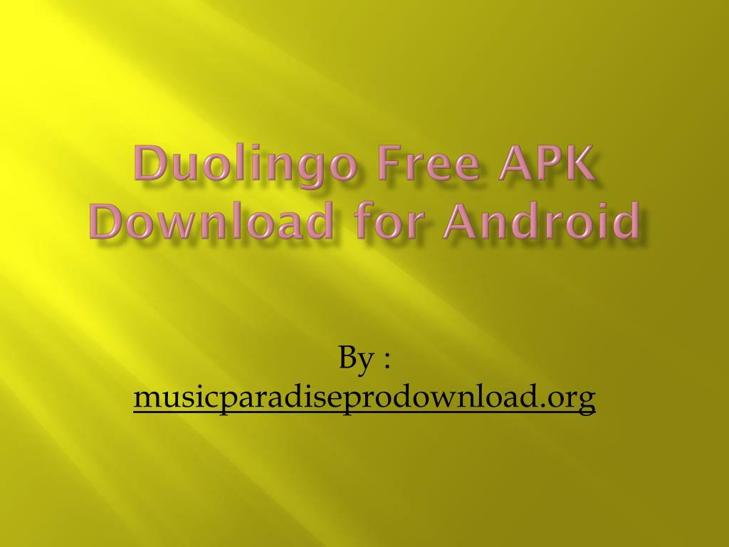 download duolingo apk