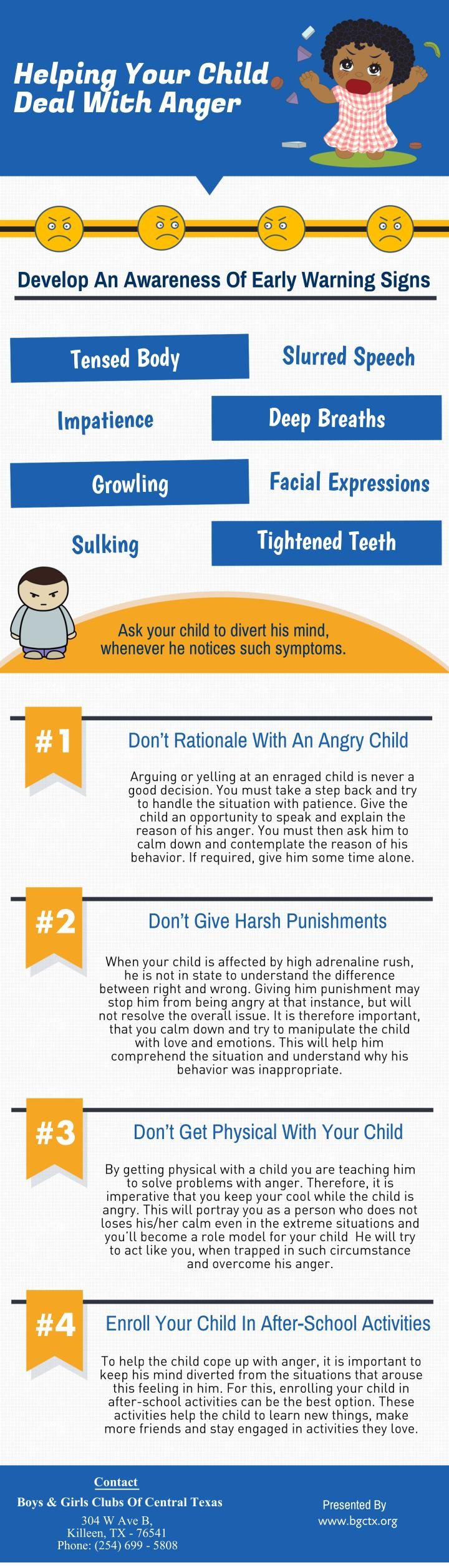 helping your child deal with anger n.