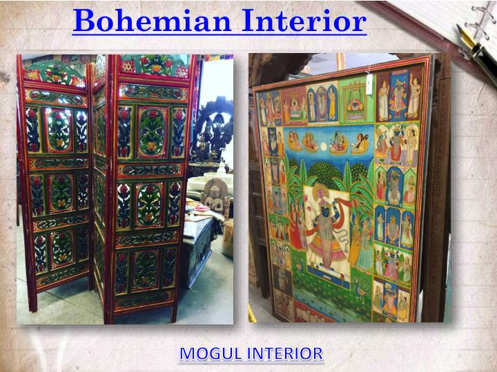 Ppt bohemian interior powerpoint presentation id 7583400 for Mogul interior designs