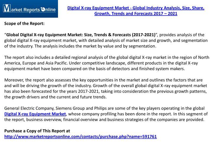 digital x ray market essay