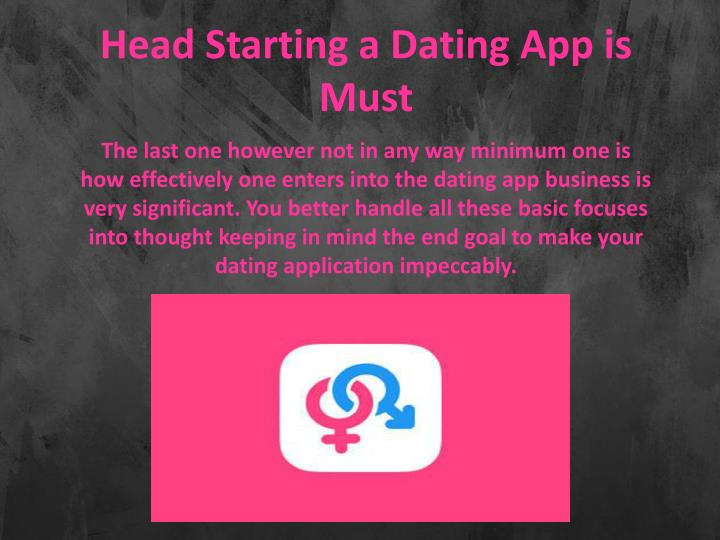 Starting a dating app