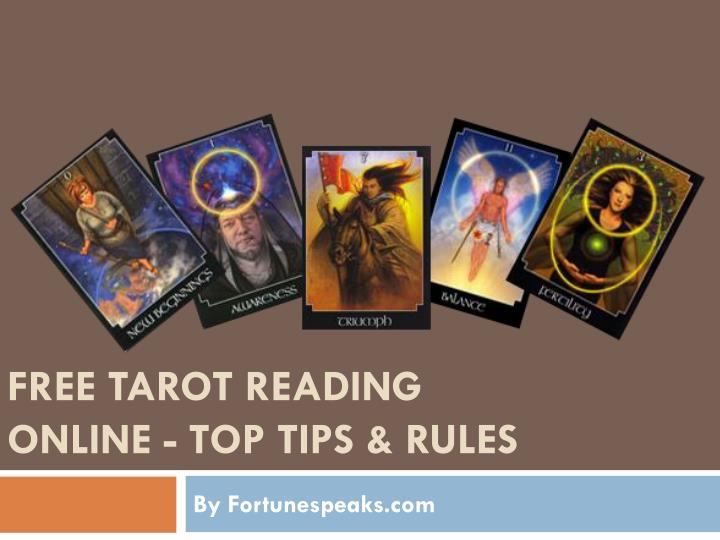 PPT - Free Tarot Reading online - Top Tips and Rules PowerPoint