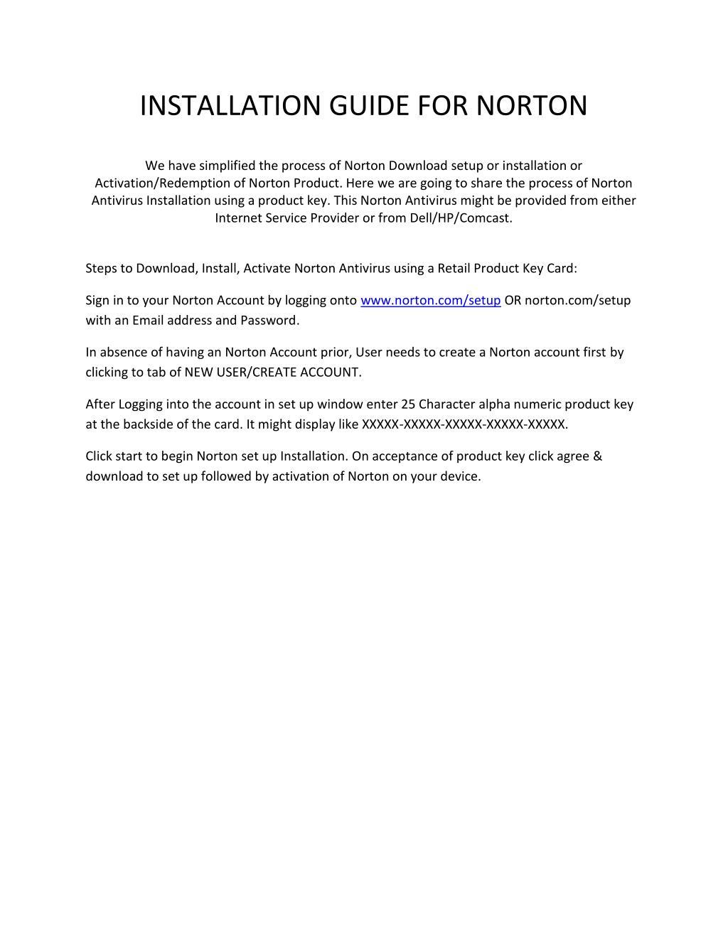 PPT - Norton com/setup - Download, Activate, Install