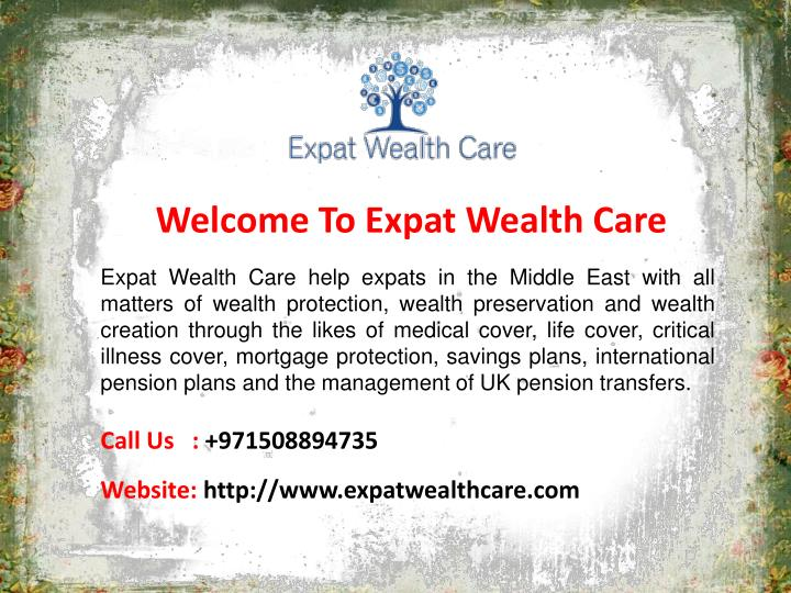 welcome to expat wealth care n.