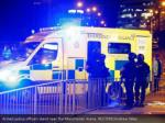 armed police officers stand near the manchester1