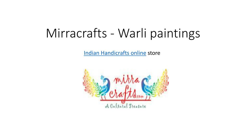 Ppt Buy Warli Paintings At Online Store For Indian Handicrafts