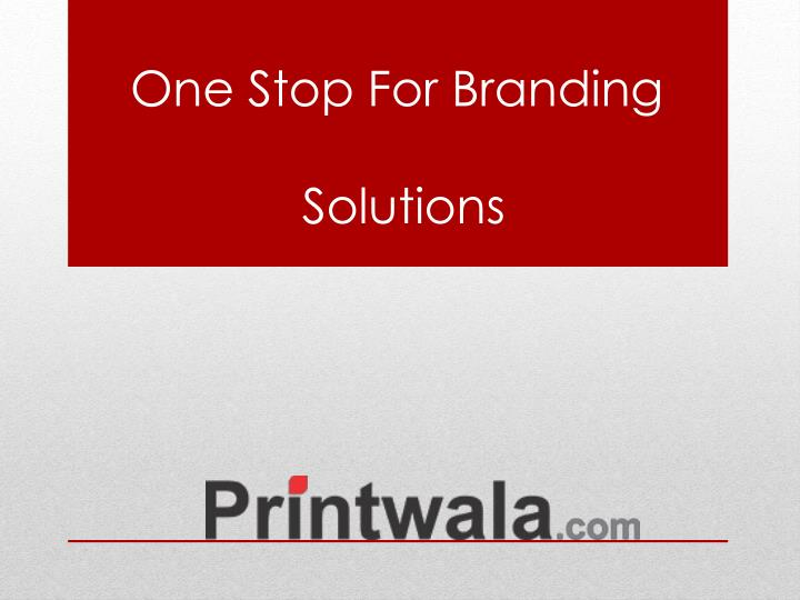 one stop for branding solutions n.