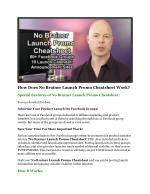 how does no brainer launch promo cheatsheet work