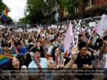 supporters react during a rally after taiwan