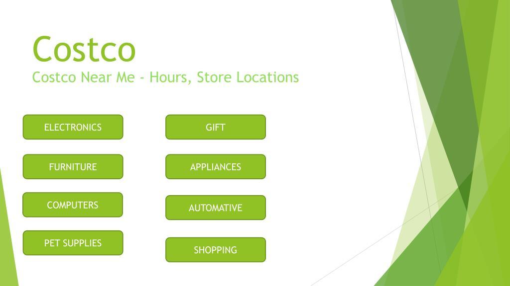 PPT - costco hours | costco near me | costco travel | costco